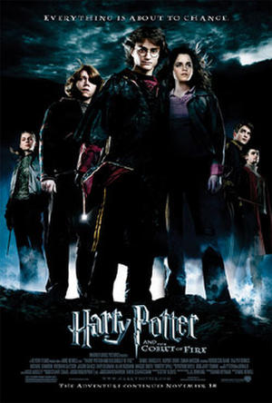 """Poster art for """"Harry Potter and the Goblet of Fire."""""""