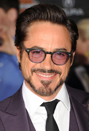 "Robert Downey Jr. at the California premiere of ""Marvel's The Avengers."""