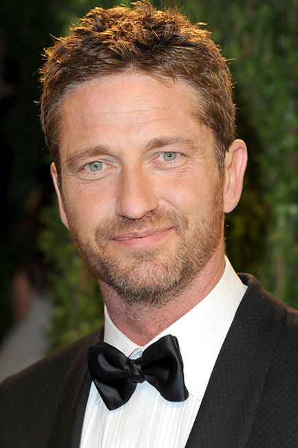 Gerard Butler at the 2013 Vanity Fair Oscar Party in Hollywood.