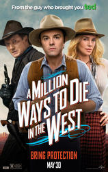 A Million Ways to Die in the West showtimes and tickets