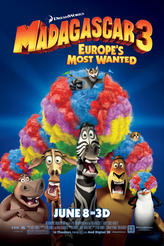Madagascar 3: Europe's Most Wanted showtimes and tickets