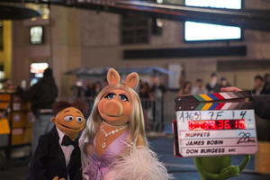 Muppet Mayhem: On the Set of 'Muppets Most Wanted'