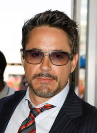 Robert Downey, Jr. at the 2007 Comic-Con in San Diego.