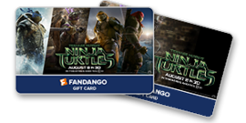 Teenage Mutant Ninja Turtles Gift Cards