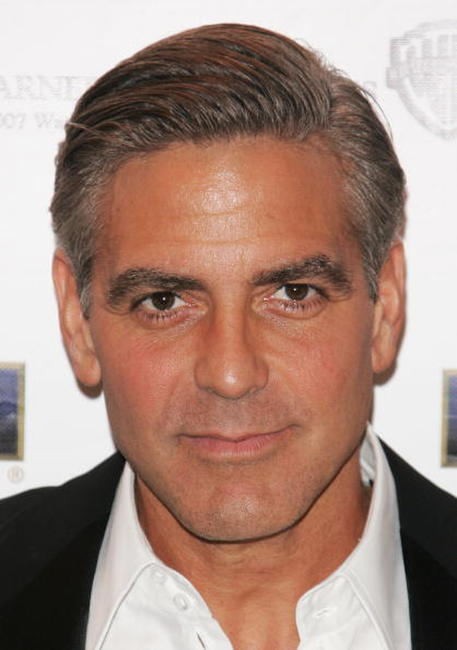 George Clooney at a Cannes party to promote