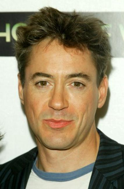 Robert Downey, Jr. at the screening of
