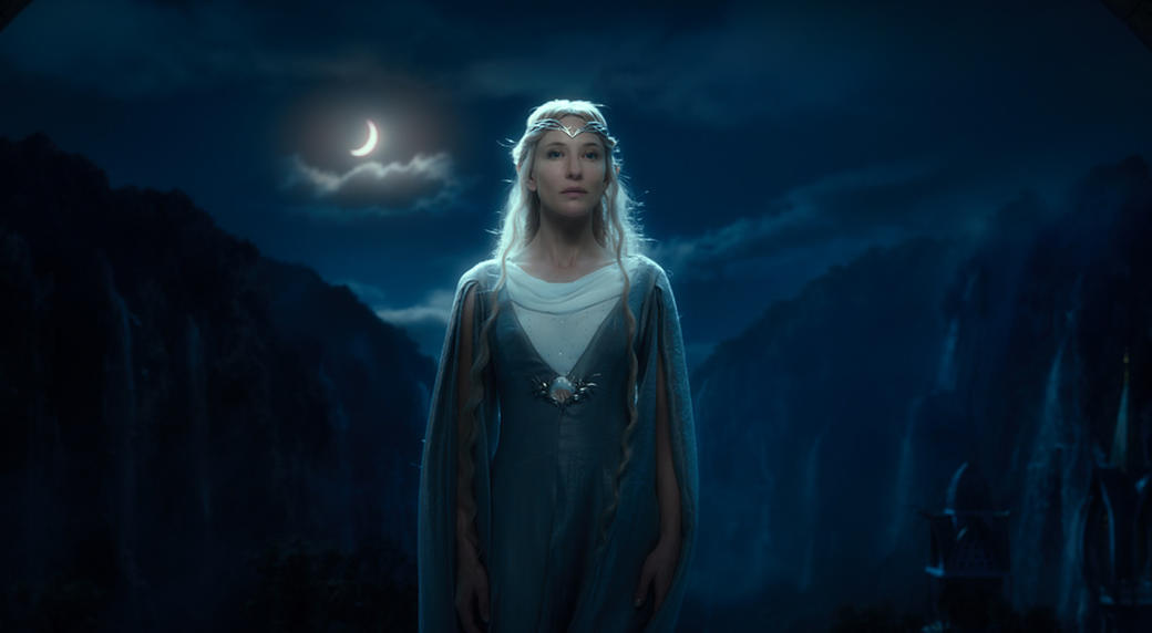Cate Blanchett as Galadriel in