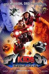 Spy Kids 3-D: Game Over showtimes and tickets