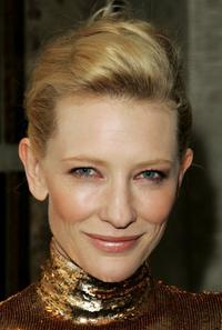 Cate Blanchett at the after party following the premiere of