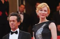 Producer Brian Grazer and Cate Blanchett at the France premiere of