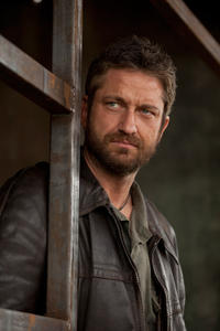 Gerard Butler as Tullus Aufidius in