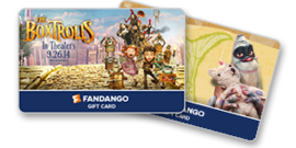 Boxtrolls Gift Cards