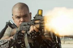 'Elysium' One Big Scene: Matt Damon Crash-lands in Paradise