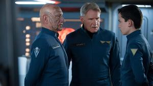 Exclusive Clip: Harrison Ford's Influence on the Kids in 'Ender's Game'