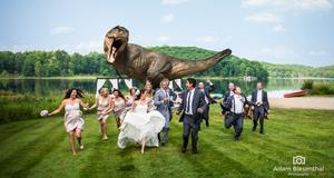 Jeff Goldblum Stars in the Greatest Movie-Related Wedding Photo of All Time