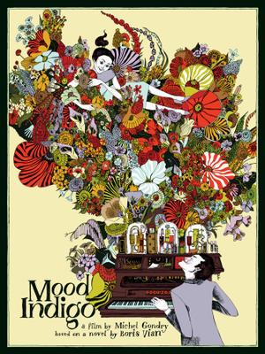 This Exclusive 'Mood Indigo' Mondo Poster Explodes with Color