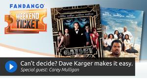Fandango Weekend Ticket - Weekend Movie Recommendations - Fandango