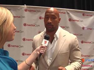 Exclusive: Dwayne Johnson Interview at CinemaCon 2012