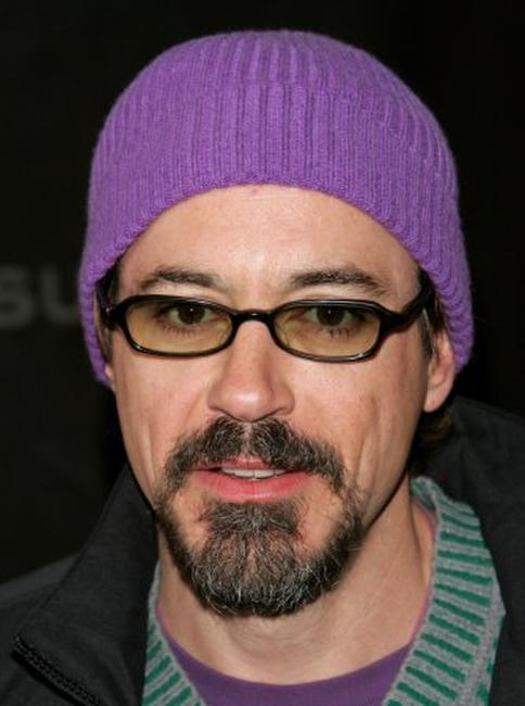 Robert Downey, Jr. at the premiere of