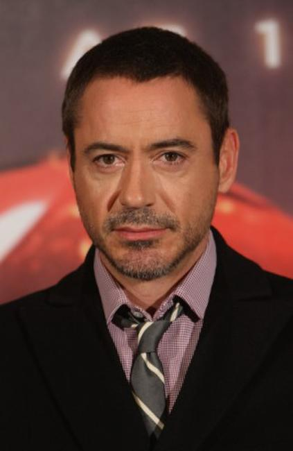 Robert Downey, Jr. at the Berlin photocall of