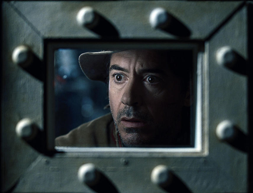 Robert Downey Jr. as Sherlock Holmes in