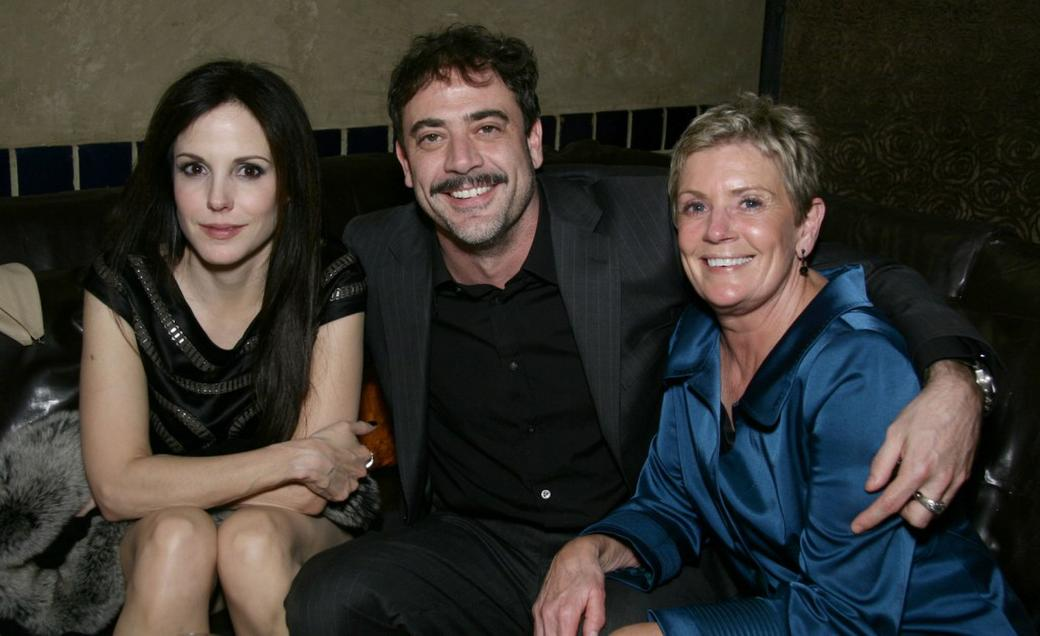 Mary Louise Parker  Jeffrey Dean Morgan and Sandy Morgan at the after    Jeffrey Dean Morgan And Mary Louise Parker