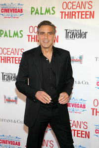 George Clooney at the CineVegas opening night screening of