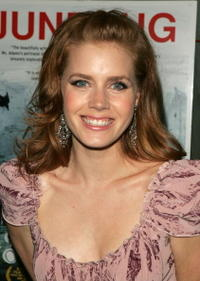 """Amy Adams at the after-party for the premiere of """"Junebug"""" in New York"""