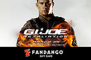 Fandango Gift Card Giveaway! Who Do You Want to Watch in 'G.I. Joe'?