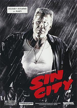 Mickey Rourke Sin City