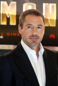 Robert Downey, Jr. at the Rome photocall of