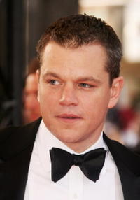 Actor Matt Damon at the Cannes premiere of