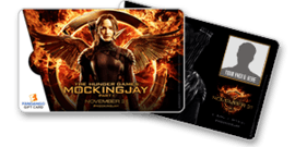 The Hunger Games Mockingjay Gift Cards