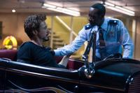 Robert Downey Jr. as Tony Stark and Don Cheadle as Col. James
