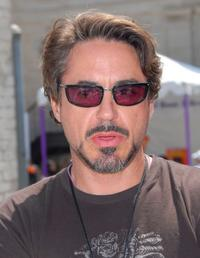 Robert Downey, Jr. at the Kidstock Music and Art Festival.