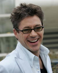 Robert Downey, Jr. at a Cannes photocall promoting the film