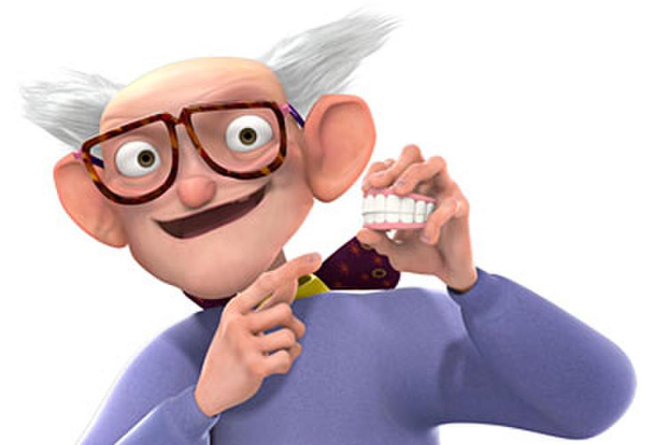 meet the robinsons grandpa name