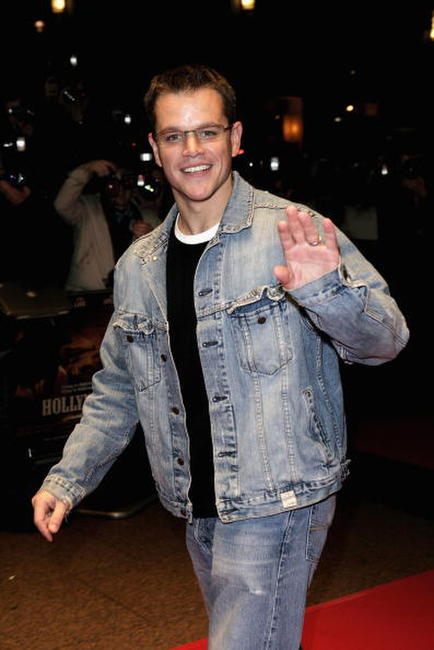 Actor Matt Damon at The Times BFI 50th London Film Festival screening of