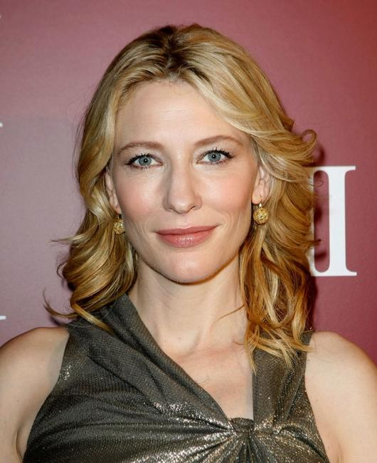 Cate Blanchett at the SK-II Luncheon.