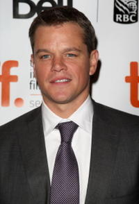 Matt Damon at the Canada Screening of
