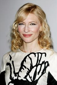 Cate Blanchett at the IWC Da Vinci Launch party.