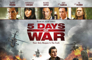 Exclusive: '5 Days of War' Poster Premiere!