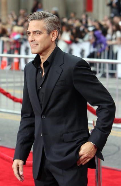 George Clooney at the Hollywood premiere of