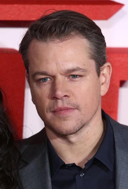 Matt Damon at the UK premiere of