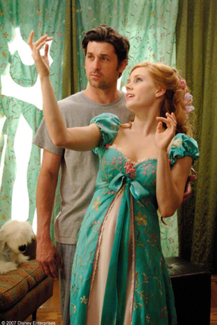 Patrick Dempsey and Amy Adams in