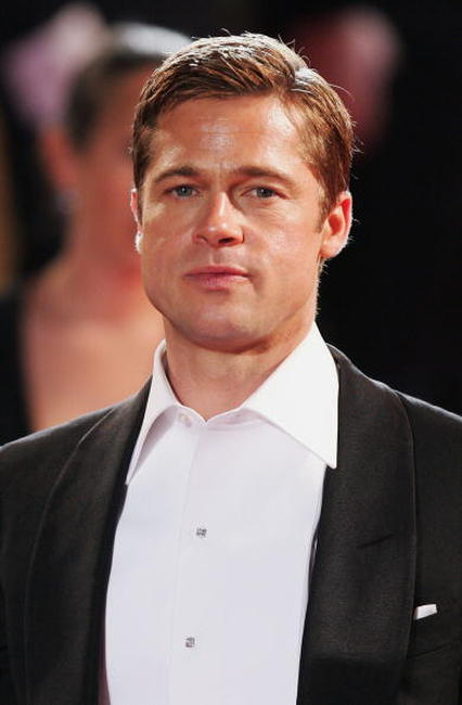 Brad Pitt at the Cannes premiere of