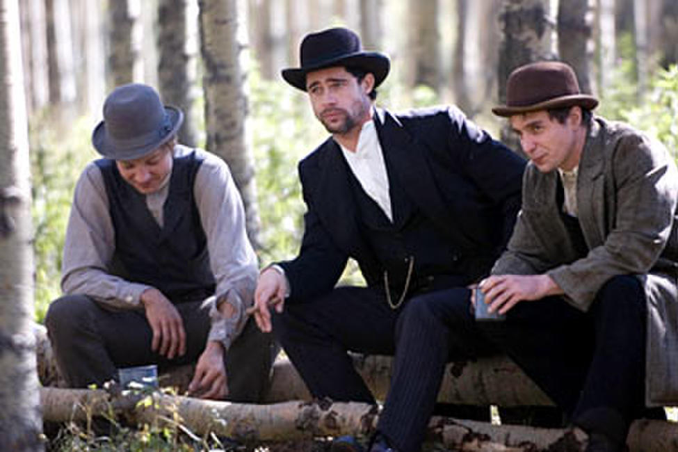 Jeremy Renner, Brad Pitt and Sam Rockwell in
