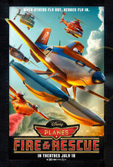 Planes: Fire & Rescue showtimes and tickets