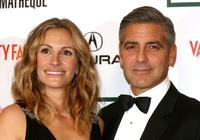 Julia Roberts and George Clooney at the 21st Annual American Cinematheque Award.
