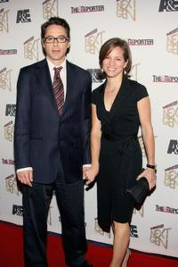 Robert Downey, Jr. and Susan Downey at the Hollywood Reporter's Next Generation Class of 2006 reception.